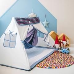 힌트 플레이하우스 화이트 양면지붕 + 누빔매트