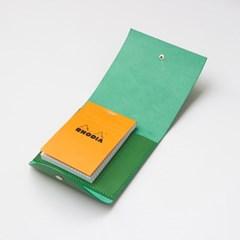 네모 북 커버-초록