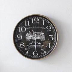 블랙빈티지 40cm 벽시계(HLCQ188782G)