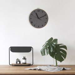 Fabric Clock_Dim Gray