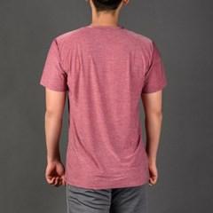 남성 스포츠 베이직 티셔츠 DFM5008 버건디