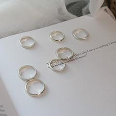 러브미 실버 반지(유광/무광) love me silver ring(커플링추천)