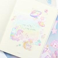 마넷 컷팅스티커 sampler - 유니콘