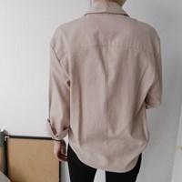 피그먼트 컬러 셔츠 (3-COLORS)