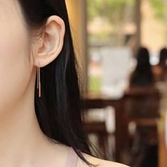 bar drop earrings (3colors)