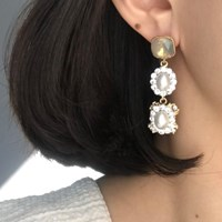 [vintage] ermel earring