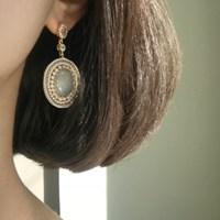 [vintage] marina earring