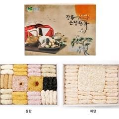 강릉은정수제한과 실속세트 설명절선물 유과강정
