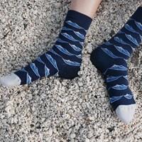 socks appeal X kittybunnypony  ocean socks