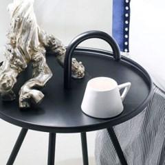 아리아퍼니쳐 Bibione-트레이 테이블 블랙