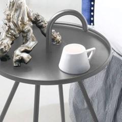 아리아퍼니쳐 Bibione-트레이 테이블 그레이
