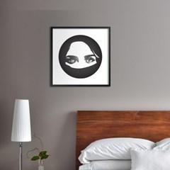 LP 메탈 액자 - A woman eyes