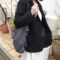멜로우백 Mellow bag - Black check