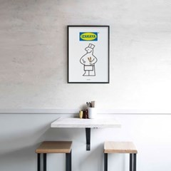 일본 유니크 인테리어 디자인 포스터 M 이자카야 IZAKAYA 일본소품