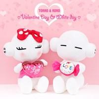 또로와로로 로로 발렌타인데이 하트 인형-(옵션)