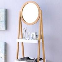 아리아퍼니쳐 FW0861 Bamboo 수납선반 - 거울형