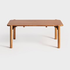 아크 폴딩 테이블 -라이트브라운 [라지]