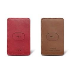 SMCL 스마트폰 부착형 카드지갑 / 각인 / 레드