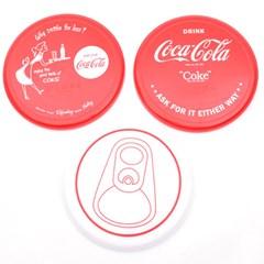 코카콜라 접시3P(대)