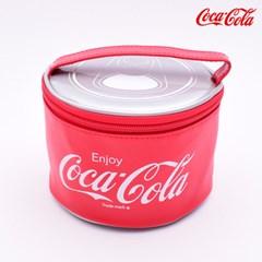 코카콜라 원형 스텐가방도시락(2단) CC5894_(633621)