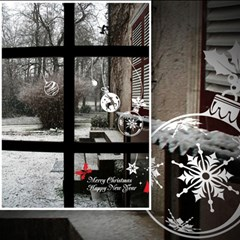 (그래픽스티커)크리스마스 오너먼트
