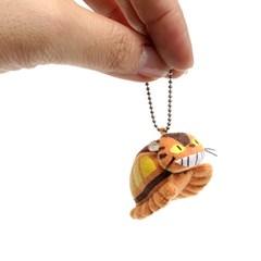 미니봉제 열쇠고리 (고양이버스)