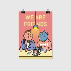 We Are Friends A3 포스터