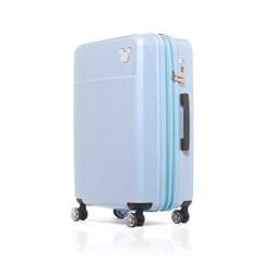 [디즈니]신제품 미키캐리어 스카이블루 20형 기내용 여행 캐리어