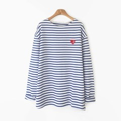 Heart Stripe T-shirt (3-color)