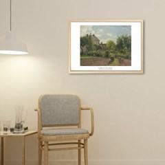 The Artist's Garden at Eragny - 카미유 피사로 009