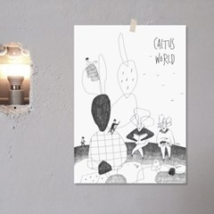 A3 Poster_Cactus world