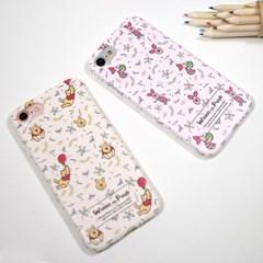 디즈니 푸우 멜로우 패턴 하드 케이스 아이폰 갤럭시 LG