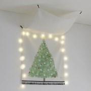 크리스마스 트리 태슬 태피스트리 / 가리개커튼