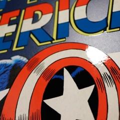 [MARVEL] 마블코믹스 정품 커버아트 포스터 - 캡틴아메리카 100호