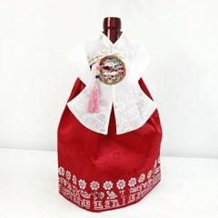 전통한복 와인커버