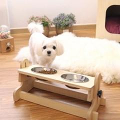 강아지, 고양이 높이/각도 조절 식기 2구/3구