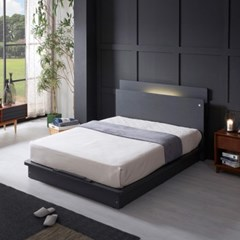 LED (USB내장) 평상형 침대 NA203 SS (7존독립스프링)