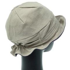 [더그레이]DKU18.꽃장식밴드 여성 벙거지 모자 버킷햇