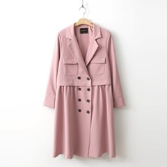 March Pleated Double Jacket
