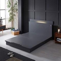 LED (USB내장) 평상형 침대 NA206 Q (본넬스프링)
