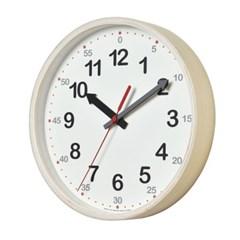 저소음 타임스터디.우드벽시계(White)