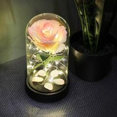 핑크 쁘띠 로즈 LED 무드등