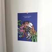 romantique poster A3