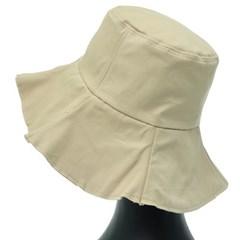 [더그레이]DKU19.플레어챙 여성 벙거지 모자 버킷햇