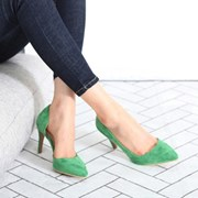 kami et muse Inside open suede pumps heel_KM18s060