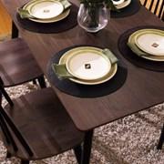 아리아퍼니쳐 Julie-Black-4 다이닝테이블 (table only)