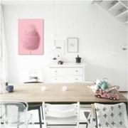핑크 코튼캔디  - 홈데코 폼보드 액자