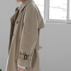 코튼 클래식 트렌치 코트