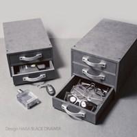 디자인하라 블랙 1 2 3단 서랍장-책상정리함 서류수납