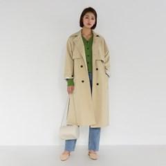 urban loose trench coat
